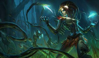 Zyra HauntedSkin
