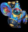 Bard Astronauten-Bard (Aquamarin) M