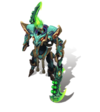 Draven MechaKingdoms (Emerald)