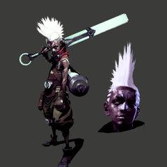 Ekko Concept 48 (by Riot Artist <a href=