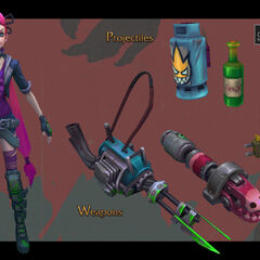 Zombie Slayer Jinx Model 2 (by Riot Artist <a href=