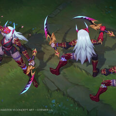 Scrapped Blood Moon Katarina Concept 2 (by Riot Contractors <a rel=