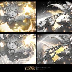 Star Guardian Lulu Splash Concept 2 (by Riot Artist <a href=