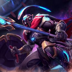 Full Metal Pantheon Update Splash Concept 2 (by Riot Artist <a rel=