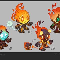 Infernal Amumu Concept 2 (by Riot Artist <a href=
