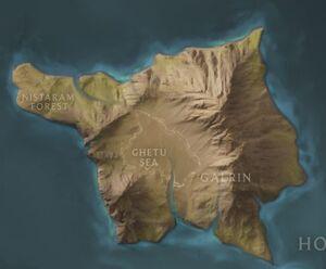 Galrin map