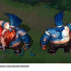 Superfan Gragas Concept (by Riot Artist <a rel=