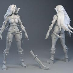 Katarina Update Model 1 (by Riot Artist <a rel=