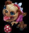 Kog'Maw Pug'Maw (Rose Quartz)