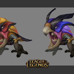 Odyssey Arcraptor and Skitterbeak Concept 2 (by Riot Artist <a rel=