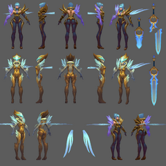 Dawnbringer Riven Model 5 (by Riot Artist <a href=