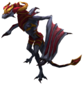 Shyvana Dragon Render.png