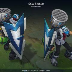 SSW Singed Concept (by Riot Artist <a href=