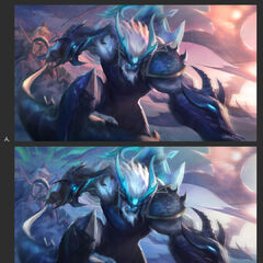 Dragonslayer Trundle Splash Concept 3 (by Riot Contracted Artist <a rel=