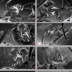 Dark Star Cho'Gath Splash Concept 1 (by Riot Artist <a href=