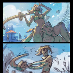 Pool Party Fiora Splash Concept 3 (by Riot Artist <a href=