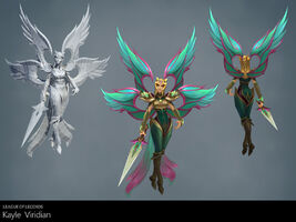 Kayle Update Viridian- Model 01