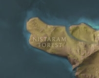 Nistaram Forest map