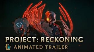 Outsiders PROJECT Reckoning Animated Trailer - League of Legends