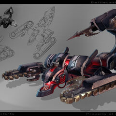 Battlecast Alpha Skarner Concept (by Riot Artist <a href=