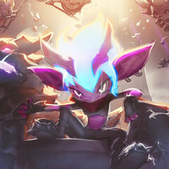 Little Demon Tristana Splash Concept 4 (by Riot Artist <a href=