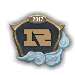 Worlds 2017 Royal Never Give Up Emote