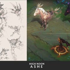 High Noon Ashe Concept 6 (by Riot Artist <a href=