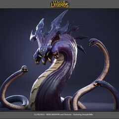 Baron Nashor Cinematic Model (by Riot Artist <a rel=
