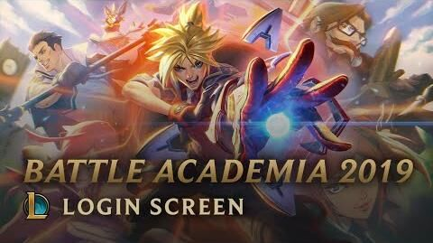 Battle Academia 2019 - Login Screen