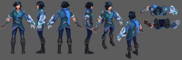 Ezreal Update SSG- Model 01