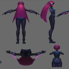Infiltrator Irelia Update Model 2 (by Riot Artists <a href=