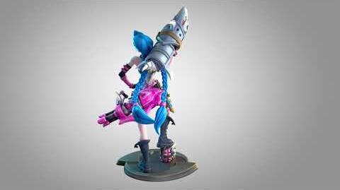 Jinx Unlocked Statue