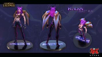Kai'Sa KDA Konzept 5