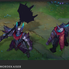 Dragon Knight Mordekaiser Update Concept 1 (by Riot Artist <a href=