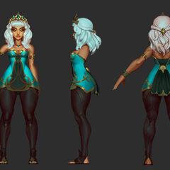 Qiyana Concept 7 (by Riot Artist <a href=