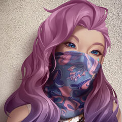 K/DA ALL OUT Seraphine Promo 57 (by Riot Artists <a href=