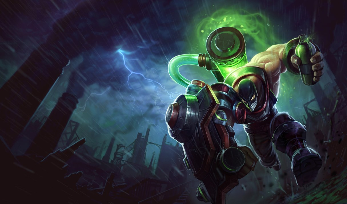 Riot Squad Singed Skin - Chinese - League of Legends Wallpapers