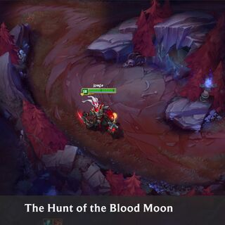 Summoner's Rift Blood Moon Concept 1 (by Riot Artist <a href=