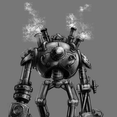Blitzcrank Concept 5 (by Riot Artist <a href=