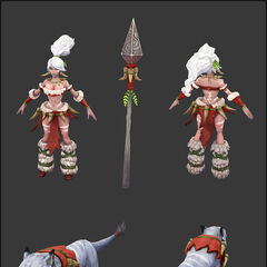 Snow Bunny Nidalee Update Model 1 (by Riot Artist <a href=