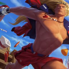 Pool Party Taric Splash Concept 3 (by Riot Artist <a href=