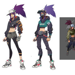 True Damage Akali Concept 2 (by Riot Artists <a rel=