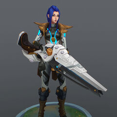 Pulsefire Caitlyn Model 1 (by Riot Artist <a href=