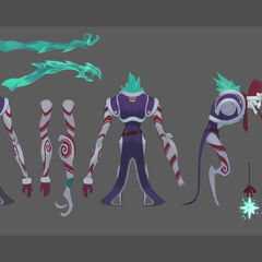 Dark Candy Fiddlesticks Update Concept 2 (by Riot Artist <a rel=