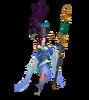 Janna Heiliges Schwert Janna (Aquamarin) M