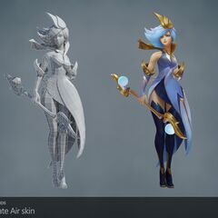 Elementalist Lux Model 8 (by Riot Artists <a href=