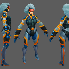 Neo PAX Sivir Model (by Riot Artists <a rel=