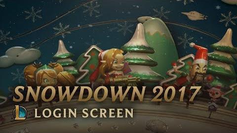 Snowdown 2017 - ekran logowania