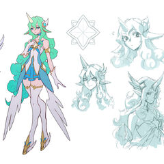 Star Guardian Soraka Concept 1 (by Riot Artist <a href=
