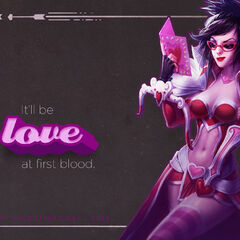 It'll be <b>love</b> at first blood